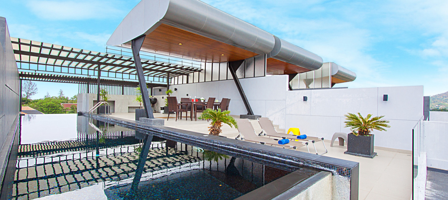 Роскошный 4-этажный дом с 3 спальнями и потрясающими видами на Раваи RW0101