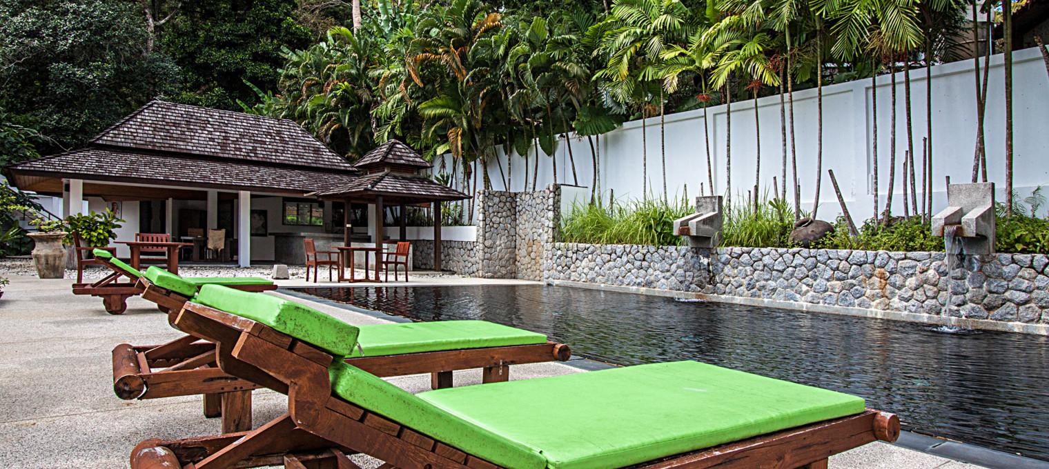 Роскошная вилла с одной спальней в азиатском стиле со всем необходимым на Кату KTH0006