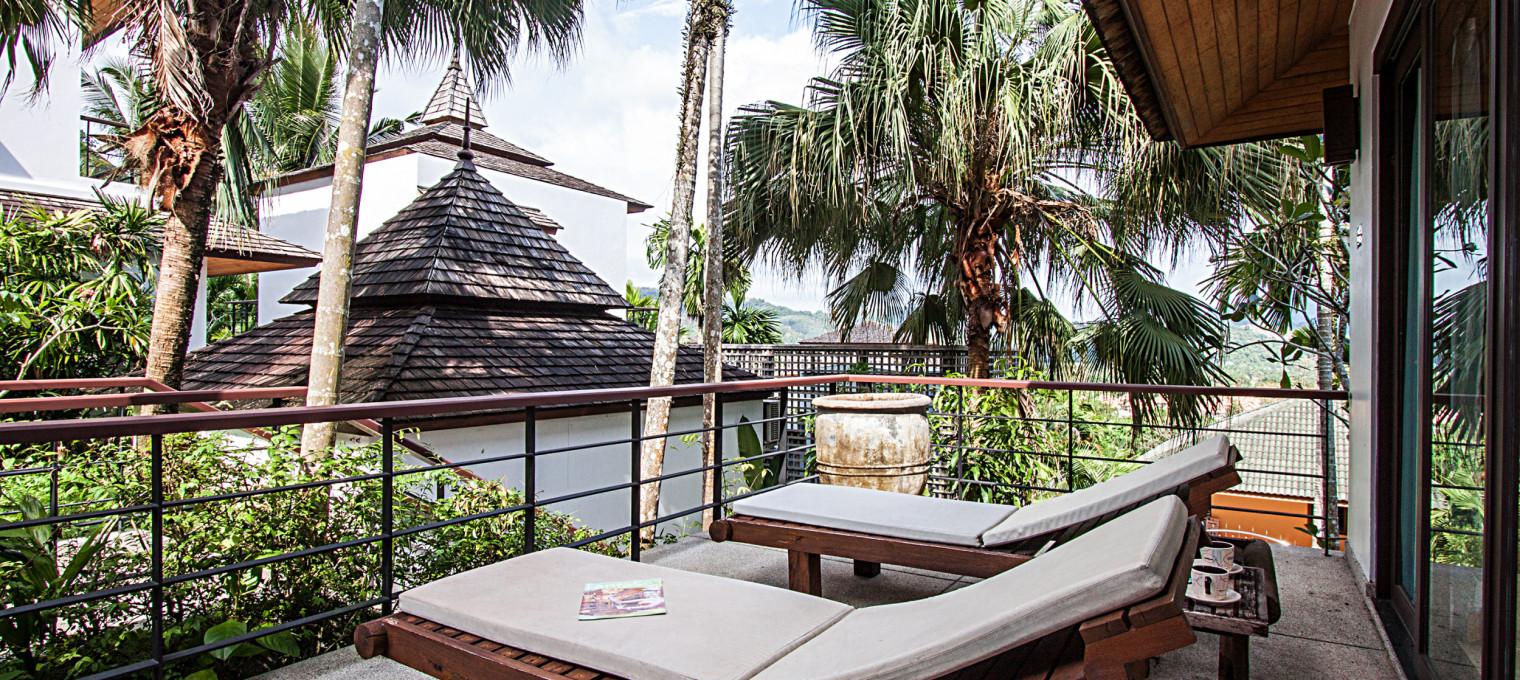 Лакшери вилла с 2-мя спальнями и потрясающим видом на зелёные холмы Кату KTH0010