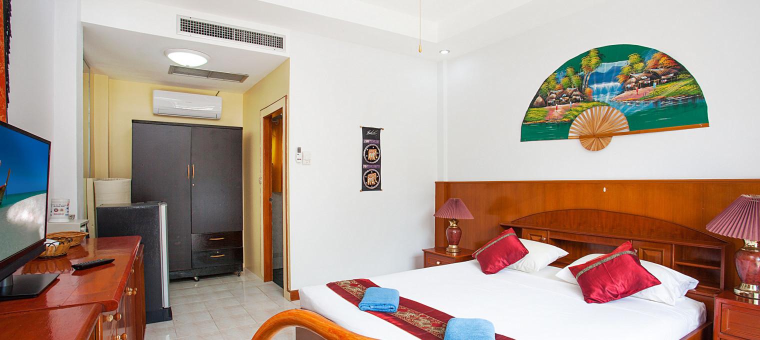 1 комната в кондо с двумя общими бассейнами на побережье Sunset Kamala KM0011