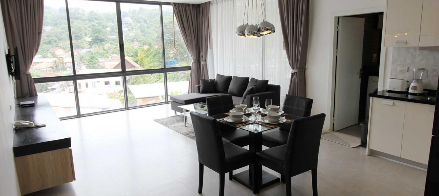 1- спальные апартаменты с видом на горы KM0013